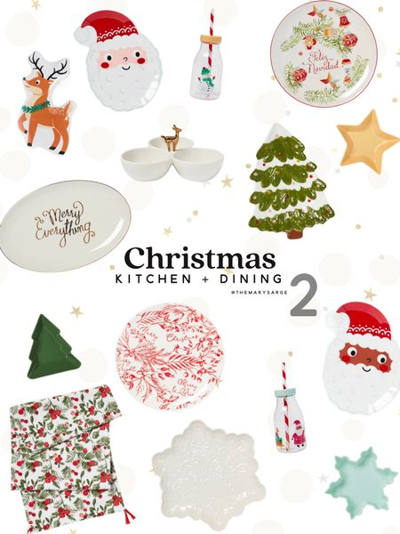 Christmas and holiday kitchen and dining items!   #LTKHoliday #LTKSeasonal #LTKhome