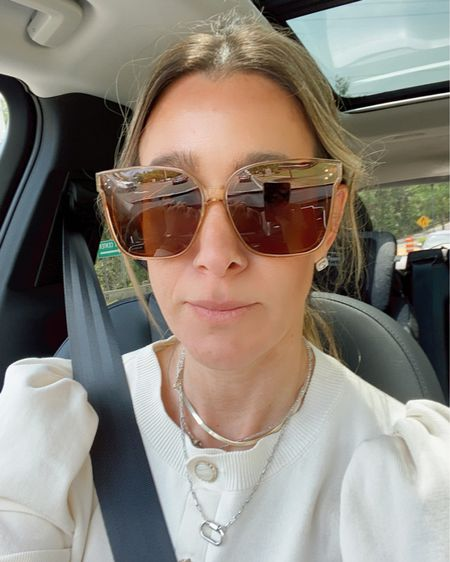 Chanel dupe Amazon sunglasses for $15 http://liketk.it/3gajI #liketkit @liketoknow.it #LTKunder50 #LTKtravel #LTKswim