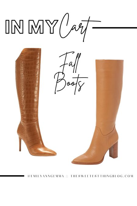 Fall Boots, Tan Boots, Fall Shoes, Fall Must Haves, Brown Boots, Vince Camuto, Emily Ann Gemma http://liketk.it/3oEkq