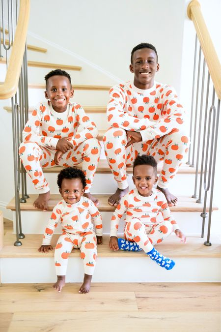 Matching Halloween pajamas from Hanna andersson   #LTKSeasonal #LTKHoliday #LTKfamily