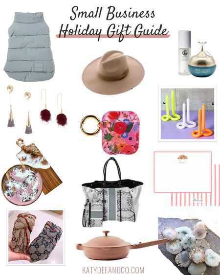 Y'all asked for a small business gift guide 🎁 this year so here it is! I've linked as many items as I can via @liketoknow.it but as these are from small businesses I can't link them all - so head over to the blog for the full deets! There are so many amazing items made by local business owners and artists, and I've included my top picks here! Most items are under $100 too! 🙌🏻What are your some of your fave shop small items? http://liketk.it/31hzV  . . .  #liketkit #shopsmall #shopsmallbusinesses #giftguide #holidaygiftguide #dmvblogger #dcblogger #LTKgiftspo #LTKunder100 #artistsupport