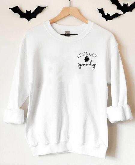 Let's get spooky Halloween sweatshirts     #LTKstyletip #LTKunder50 #LTKHoliday