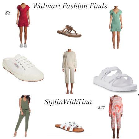 Walmart fashion finds $3 dresses, lounge set, sweatsuit set, sandals, slip-on sneakers, slides  http://liketk.it/3iaw2 #LTKsalealert #LTKstyletip #LTKunder50 #LTKworkwear #LTKwedding #LTKshoecrush #LTKitbag #LTKcurves #LTKtravel #LTKfit #LTKunder100 #ltkdresses#dresses#trends#sandals #walmartfinds @liketoknow.it #liketkit
