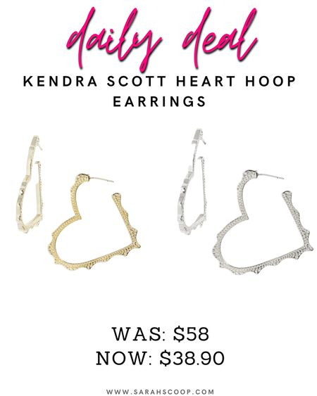 💥Nordstrom Anniversary Sale💥 Get these Kendra Scott earrings for only $38.90!! Originally priced at $58.00 you can choose between gold or silver🤍 #nsale #nordstromsale #nordstromanniversarysale #anniversarysale #dealsoftheday #dealday #savetoday #kendrascott #earrings #silverearrings #goldearrings #hoopearrings #kendrascottearrings  #LTKsalealert #LTKunder50 #LTKstyletip