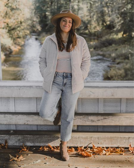 I love wearing hats in the winter. This Gigipip Monroe hat is everything. Also I'm loving these super affordable wide leg pants and puffer jacket from Old Navy! 😍🤍 http://liketk.it/2IPel #liketkit @liketoknow.it #LTKshoecrush #LTKstyletip #LTKunder50