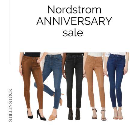 #nsale jeans still in stock Nordstrom anniversary sale, jeans on sale, denim, casual, fall.  #LTKsalealert