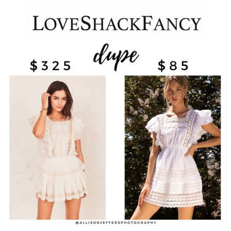 I found an amazing love shack fancy white dress dupe!! It reminds me of the Natasha, Liv, and Stella, but for less than a third of the price! A great dress for your bachelorette brunch, bridal shower, Bach party, or just hanging out around the house 🙃  http://liketk.it/39I4T #liketkit @liketoknow.it #LTKunder100 #LTKsalealert #LTKwedding