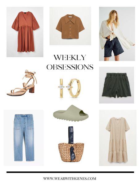 Weekly obsessions!  Everything I'm loving this week! http://liketk.it/3gWqn #liketkit @liketoknow.it #LTKitbag #LTKshoecrush #LTKunder100