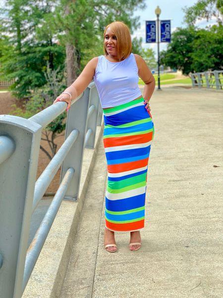 2 piece skirt set  #LTKSeasonal #LTKunder50