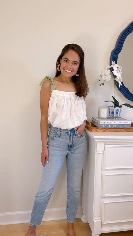Madewell perfect vintage jeans on sale.   #LTKDay #LTKunder100 #LTKsalealert