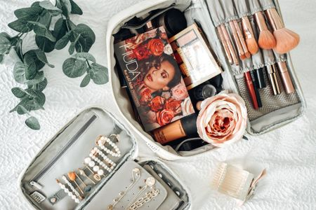 I love organizing bags and these luxurious makeup and jewelry bags I found on Amazon are must haves. You can shop them here. Follow me to always get updates sales and affordable products. #LTKsalealert #LTKunder100 #LTKitbag #LTKhome #liketkit @liketoknow.it http://liketk.it/2S0jd Screenshot or 'like' this pic to shop the product details from the LIKEtoKNOW.it app, available now from the App Store!