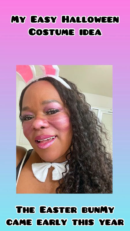 Looking for a last minute Halloween costume idea. Just grab some bunny ears and a colorful eye shadow pallet like this Huda Beauty Amethyst Obsession.  The Easter bunny came early this year!   Music: Escape The World Musician: Winter Foe Site: https://icons8.com/music/  #LTKstyletip #LTKbeauty #LTKunder100