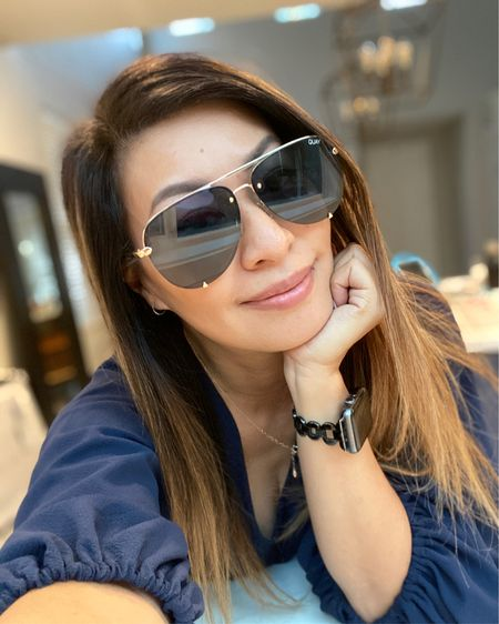 My favorite sunnies on sale TODAY only for $39! In California is sunny until about November so I always need a pair of sunglasses on hand. Also on days where I don't feel like putting on makeup! These are always my go to pairs!    Shop my daily looks by following me on the LIKEtoKNOW.it shopping app http://liketk.it/2SwX5 #liketkit @liketoknow.it #LTKunder50 #LTKspring #LTKsalealert