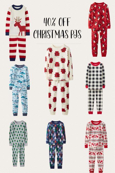 40% off Christmas pajamas   #LTKfamily #LTKHoliday #LTKkids