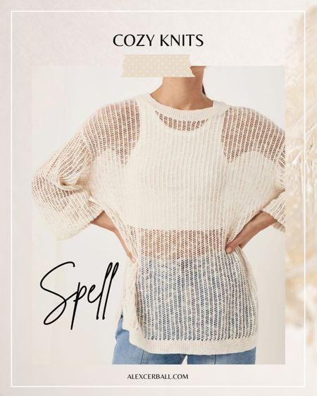 Spell knitwear | boho style http://liketk.it/3fWY7 #liketkit @liketoknow.it #LTKstyletip