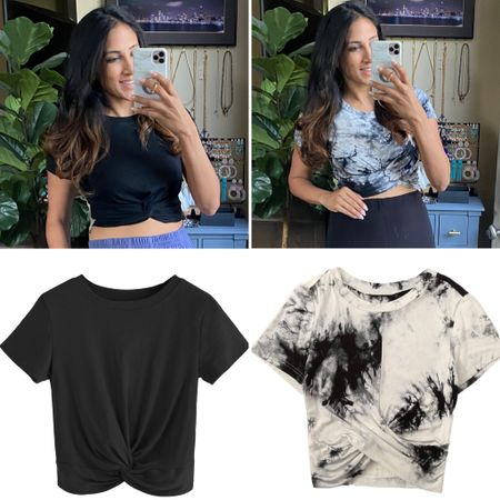 Mom friendly crop tops from Amazon pair perfectly with high waisted looks!! http://liketk.it/3gJjX #liketkit @liketoknow.it  #amazonfinds #croptop