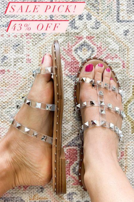 Sandals on sale - 43% off   #LTKsalealert #LTKunder50 #LTKshoecrush
