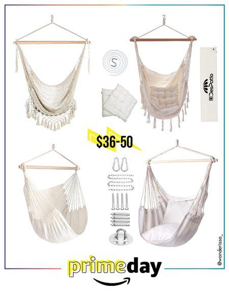 Prime Day Deals Hammock Chair (rope swing) ✨  #LTKunder50 #LTKhome #LTKSeasonal