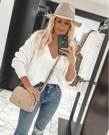 The softest sweater ever and it's part of the NSALE and still in stock!! @liketoknow.it #liketkit http://liketk.it/3jWhy Shop my daily looks by following me on the LIKEtoKNOW.it shopping app  Follow my shop on the @shop.LTK app to shop this post and get my exclusive app-only content!  #liketkit #LTKunder100 #LTKunder50 #LTKsalealert @shop.ltk http://liketk.it/3jWhy
