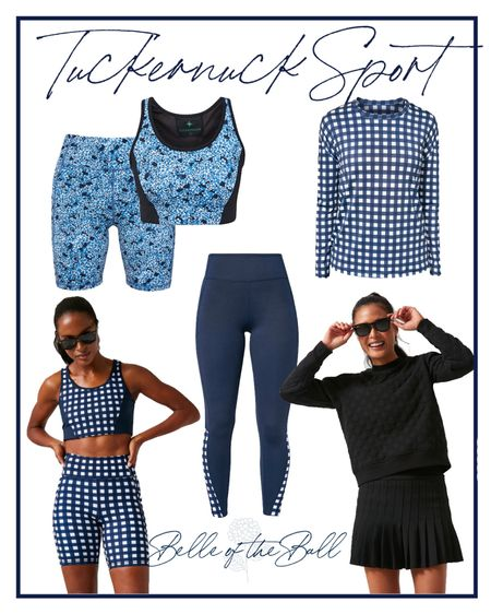 Tuckernuck always has the cutest activewear!!! Linking my favs from the new collection