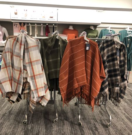 Poncho jackets!  Loving all the fall colors to transition into winter from Universal threads and A New day!    #LTKSeasonal #LTKGiftGuide #LTKstyletip