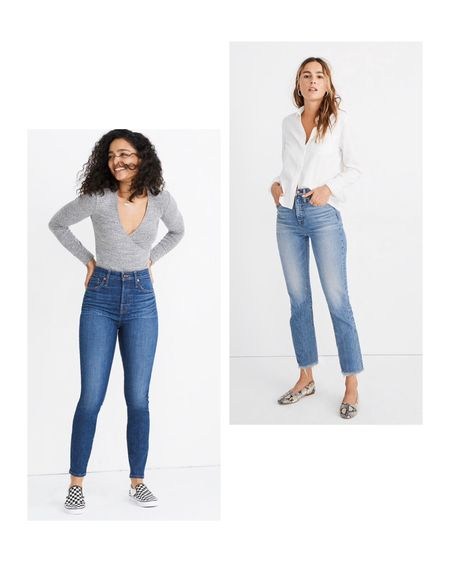 My first Madewell jeans 😍 Can't wait to try these fits! I've been wanting to try them for awhile, so I had to jump on their 30% off sale! http://liketk.it/2HyQC #liketkit @liketoknow.it #LTKholidaystyle #LTKholidaygiftguide #LTKunder100