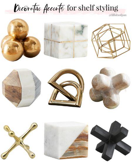 brass home decor accent, marble decor, paper weight, west elm  #LTKunder100 #LTKstyletip #LTKhome