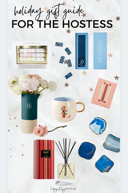 Gift guide for the hostess! House warming gifts and gift ideas for mothers and mother in laws  Monogrammed gifts Home gifts   #LTKGiftGuide #LTKHoliday #LTKhome