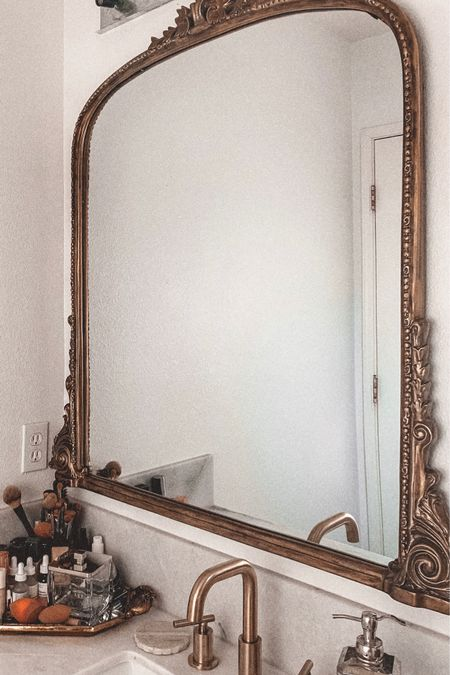 My bathroom mirror! I ended up going with the size 3ft. It fits great in my bathroom!   #LTKsalealert #LTKhome #LTKDay