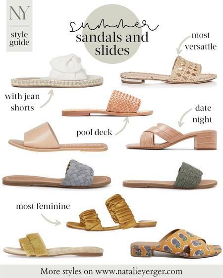 sandals, summer shoes, summer sandals, slide sandals, white sandals, sandals under 100, natalie yerger http://liketk.it/2QvwC #liketkit @liketoknow.it #LTKshoecrush #LTKunder100 #LTKunder50 #LTKstyletip #LTKsummer