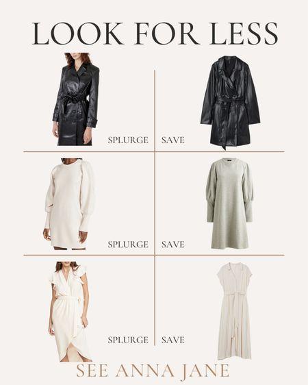 Get The Look For Less On Fall Fashion Finds 🙌🏼  #getthelookforless #savevssplurge #savevsspend #fallfashion #fallstyle  #LTKstyletip #LTKSeasonal