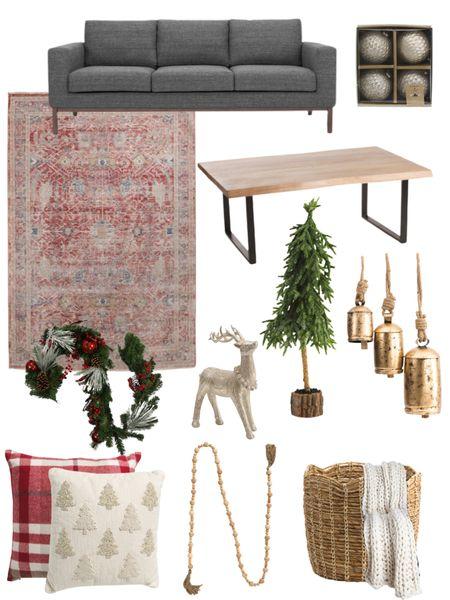 Living room Christmas decor from TJMaxx and Marshalls! So far from Wayfair!    #LTKhome #LTKSeasonal #LTKHoliday
