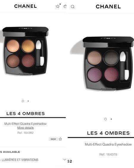 New Chanel eyeshadow palettes http://liketk.it/3ikP5 @liketoknow.it #liketkit #LTKbeauty