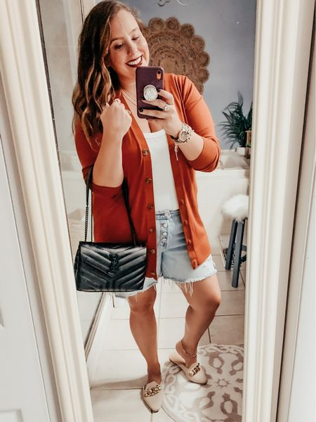 Loving being able to wear fall colors! 🍁 🍂  What's your favorite fall color?? 🎃      #LTKstyletip #LTKunder50 #LTKSeasonal