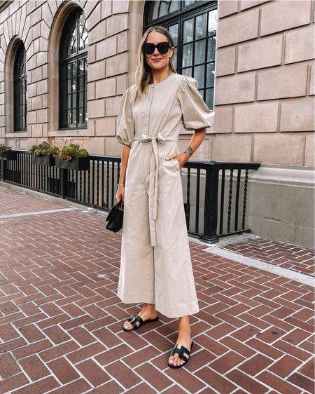 Love this jumpsuit for summer (tts / 4) pair it with sandals, heels, or even sneakers! #jumpsuit #sandals #summerfashion http://liketk.it/3fgRo  #liketkit @liketoknow.it #LTKstyletip #LTKunder100 #LTKshoecrush