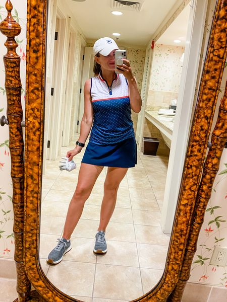 Favorite golf outfit! This Spanx skirt is so flattering!     #LTKunder100 #LTKfit