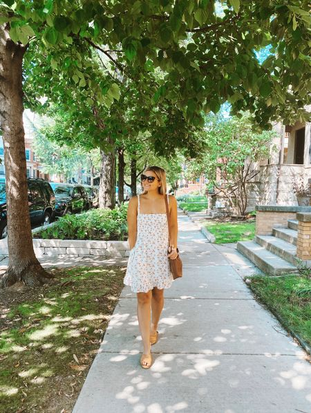 This weekend = lots of long summer walks + tasks to complete before crunch time 💍😎 How have you guys been spending this beautiful weekend?!  Also, I've worn this dress all summer and it's now only $39! I have a regular size small and it's perfectly comfortable and breezy, and it comes in multiple prints. Go go go!    #LTKunder100 #LTKsalealert #LTKunder50