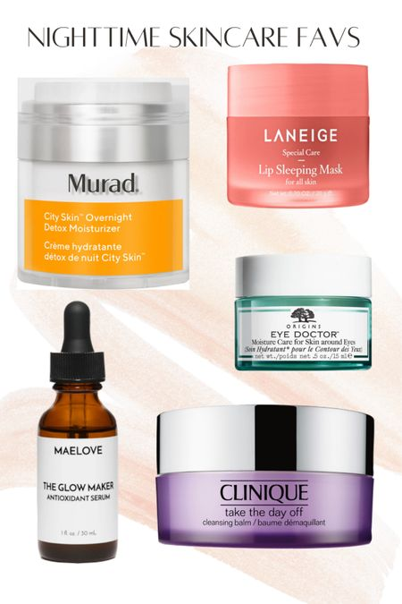Nighttime Skincare Favs  #nighttime #skincare #clinique #murad #selfcare #laneige #origins #ulta #sephora #maelove #makeup #clean #LTKbeauty #LTKunder100 #LTKunder50 @liketoknow.it http://liketk.it/3iMQ4 #liketkit
