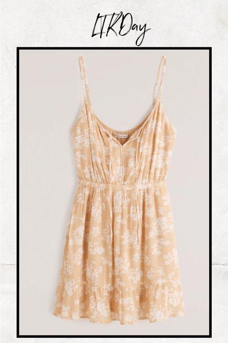 Such a pretty summer dress!  #LTKSeasonal #LTKunder50 #LTKsalealert