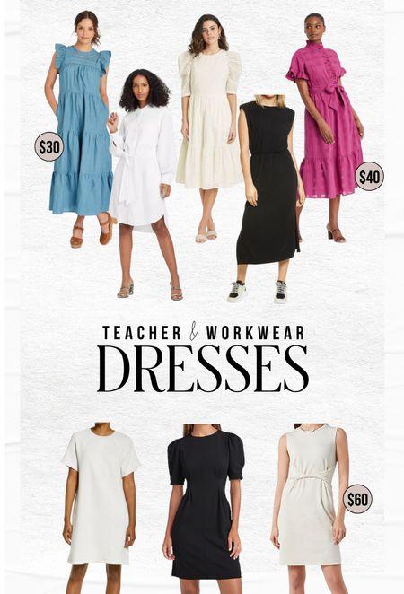 Workwear and teacher dresses!  #LTKstyletip #LTKunder100 #LTKSeasonal