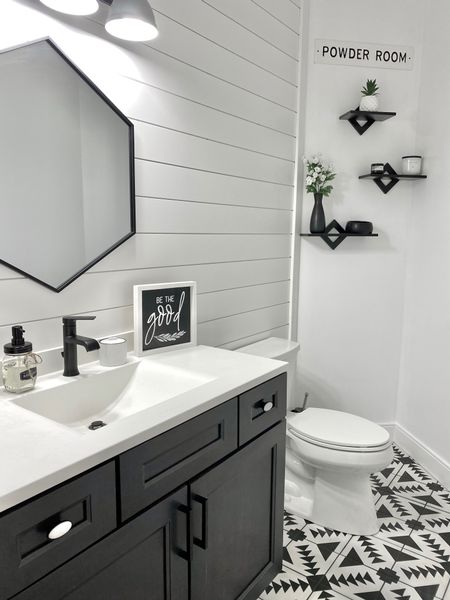 Don't be intimated by a bathroom reno! It can be the least expensive place to start! http://liketk.it/35UHF @liketoknow.it #liketkit
