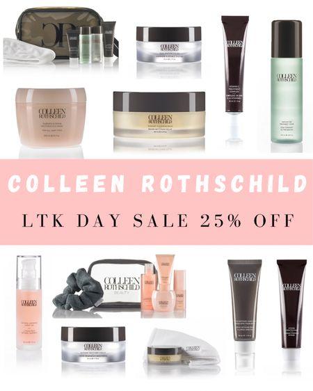 Colleen Rothschild 25% off sale 🤍 Use code: LTKDAY . . .  http://liketk.it/3h6r6 #liketkit @liketoknow.it #LTKDay #LTKbeauty #LTKsalealert skincare, skincare routine, LTK day sale