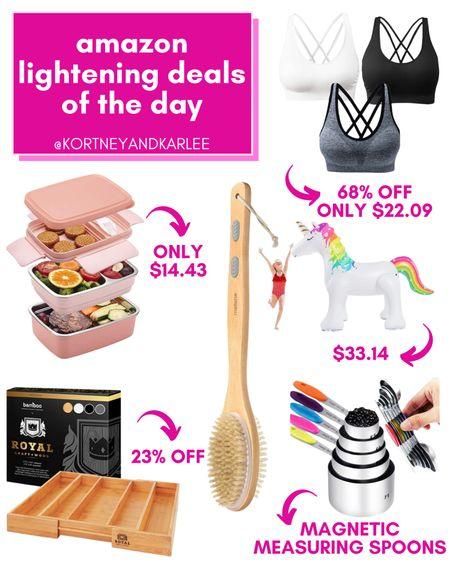 Amazon Lightening Deals Roundup!!!  Amazon daily deal | amazon deal | amazon beauty | amazon finds | amazon favorites | amazon lightening deal | Kortney and Karlee | #kortneyandkarlee #LTKunder50 #LTKunder100 #LTKsalealert #LTKstyletip #LTKSeasonal #LTKbeauty #LTKhome #LTKfit @liketoknow.it #liketkit http://liketk.it/3hSR2