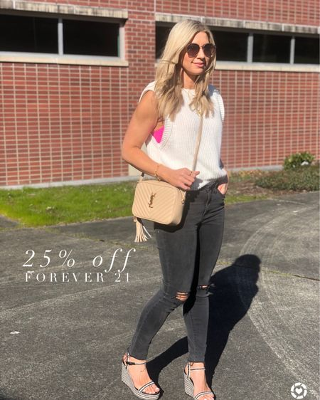 Madewell and Forever 21 are both in the LTK Sale http://liketk.it/3hoNa #liketkit @liketoknow.it #LTKDay #LTKsalealert #LTKstyletip Download the LIKEtoKNOW.it shopping app to shop this pic via screenshot