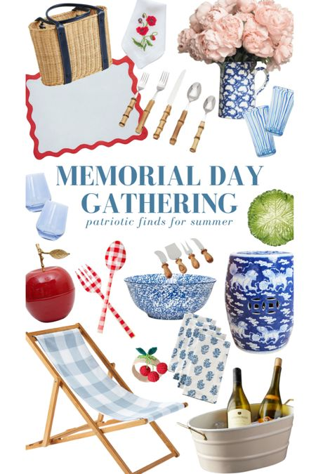 Patriotic finds for your Memorial Day gatherings. Explore them all at KatieConsiders.com @liketoknow.it #liketkit http://liketk.it/3fM69