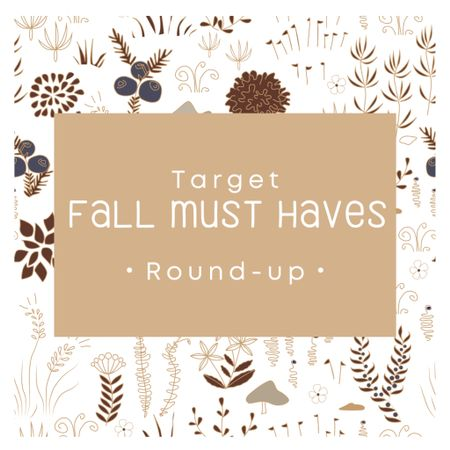 Target Fall Must Haves Easy swaps to bring in the cozy fall vibes
