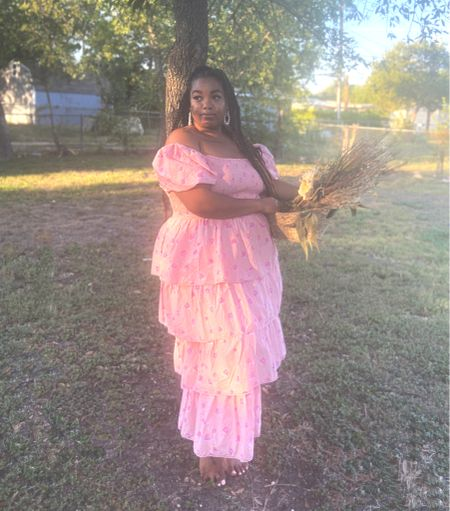 Happy #nationaldressday I'm sharing some of my fave affordable plus size cottagecore dresses you can buy NOW.   Kick up your spring outfits in flirty florals and femme details.  #LTKunder50 #LTKcurves #LTKSeasonal