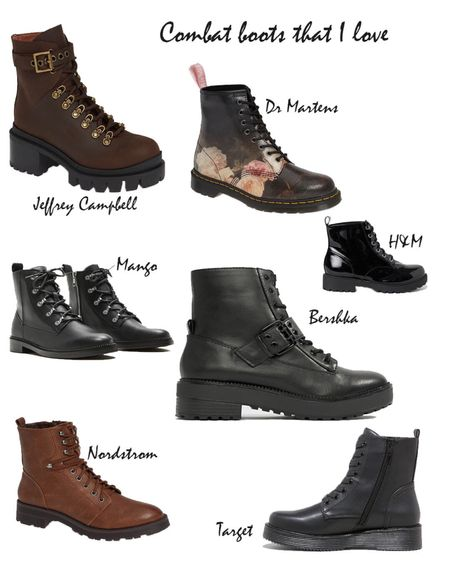 More Combat boots for every budget 🖤 .  #liketkit @liketoknow.it http://liketk.it/2ylSE #LTKholidaystyle #LTKeurope #LTKstyletip #LTKshoecrush #LTKsalealert