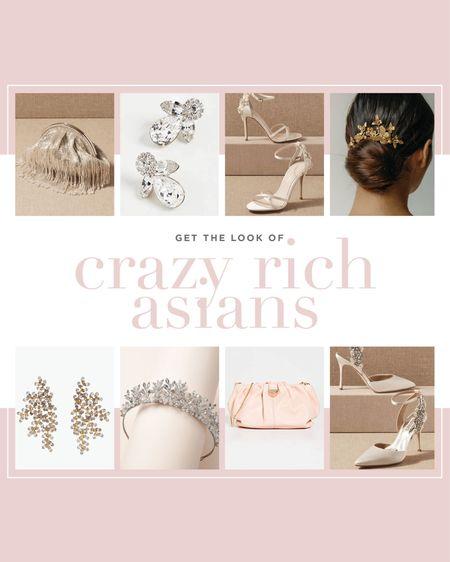 Whimsical glamour! Get the look inspired by the movie Crazy Rich Asians. 🥂  #LTKwedding #LTKstyletip #LTKshoecrush