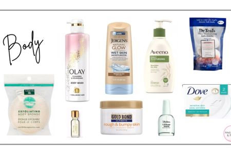 My go-to drugstore products - For the body http://liketk.it/374di #liketkit @liketoknow.it